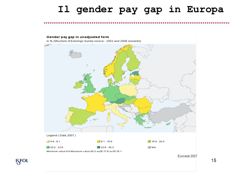 Il gender pay gap in Europa