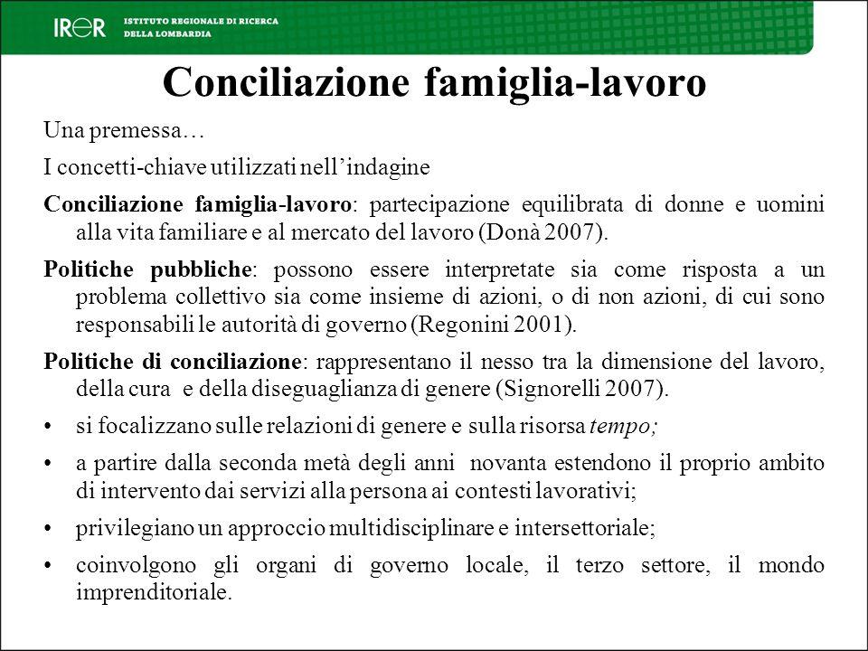 Conciliazione famiglia-lavoro