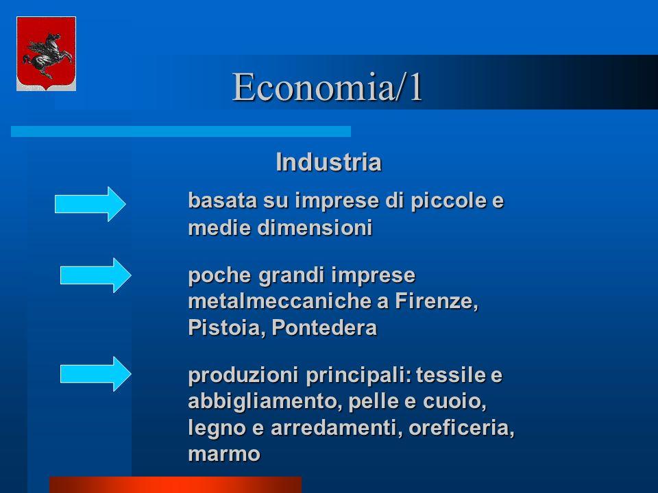 Economia/1 Industria basata su imprese di piccole e medie dimensioni
