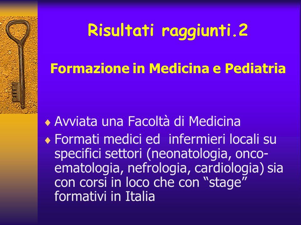 Formazione in Medicina e Pediatria
