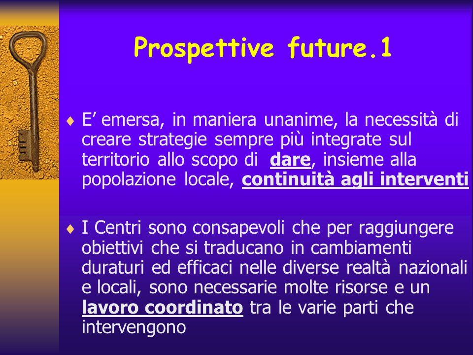 Prospettive future.1