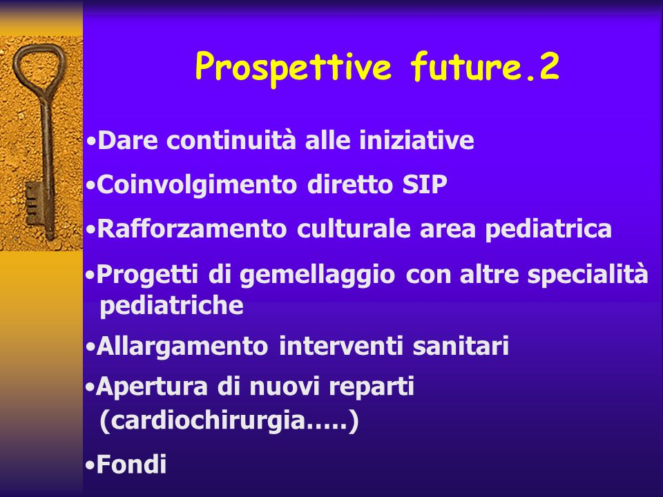 Prospettive future.2 Dare continuità alle iniziative