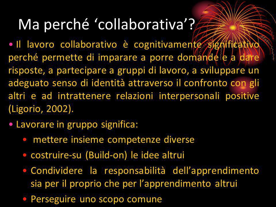 Ma perché 'collaborativa'