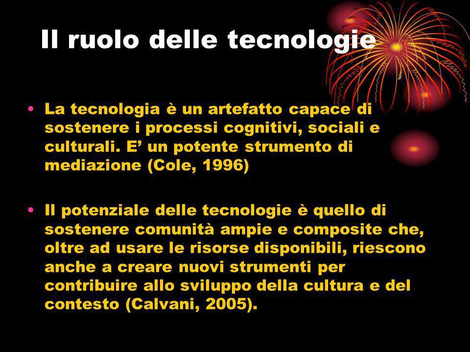 Il ruolo delle tecnologie