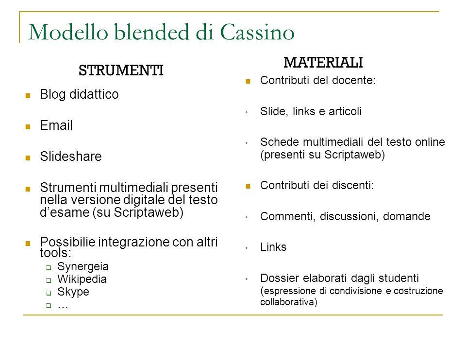 Modello blended di Cassino