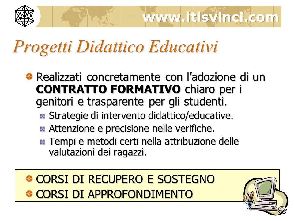 Progetti Didattico Educativi