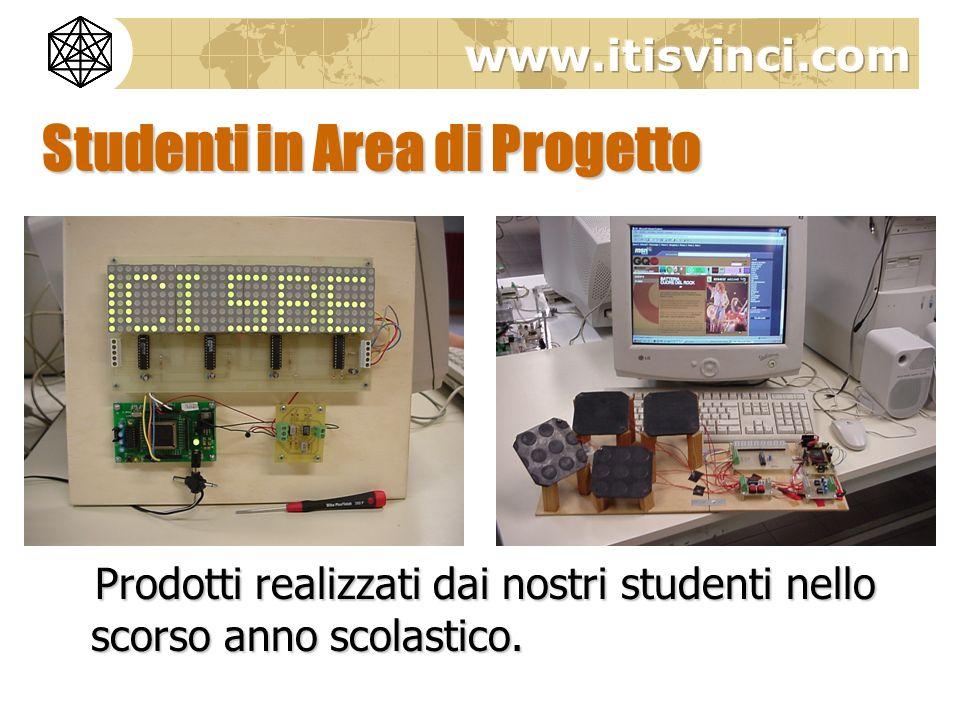 Studenti in Area di Progetto