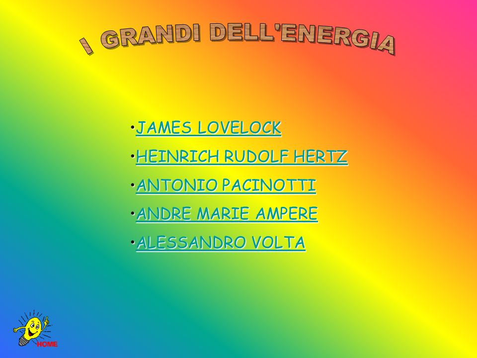 I GRANDI DELL ENERGIA JAMES LOVELOCK HEINRICH RUDOLF HERTZ