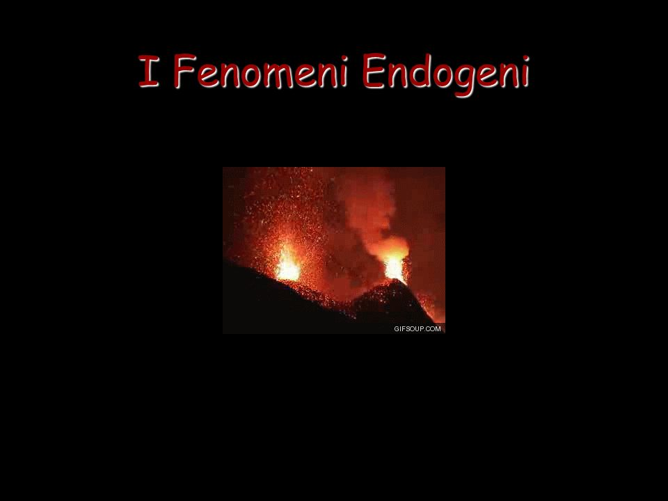 I Fenomeni Endogeni