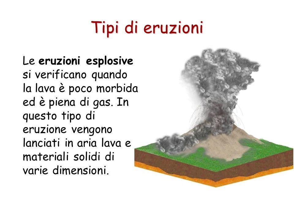 Tipi di eruzioni