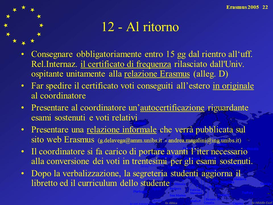 Erasmus 2005 12 - Al ritorno.