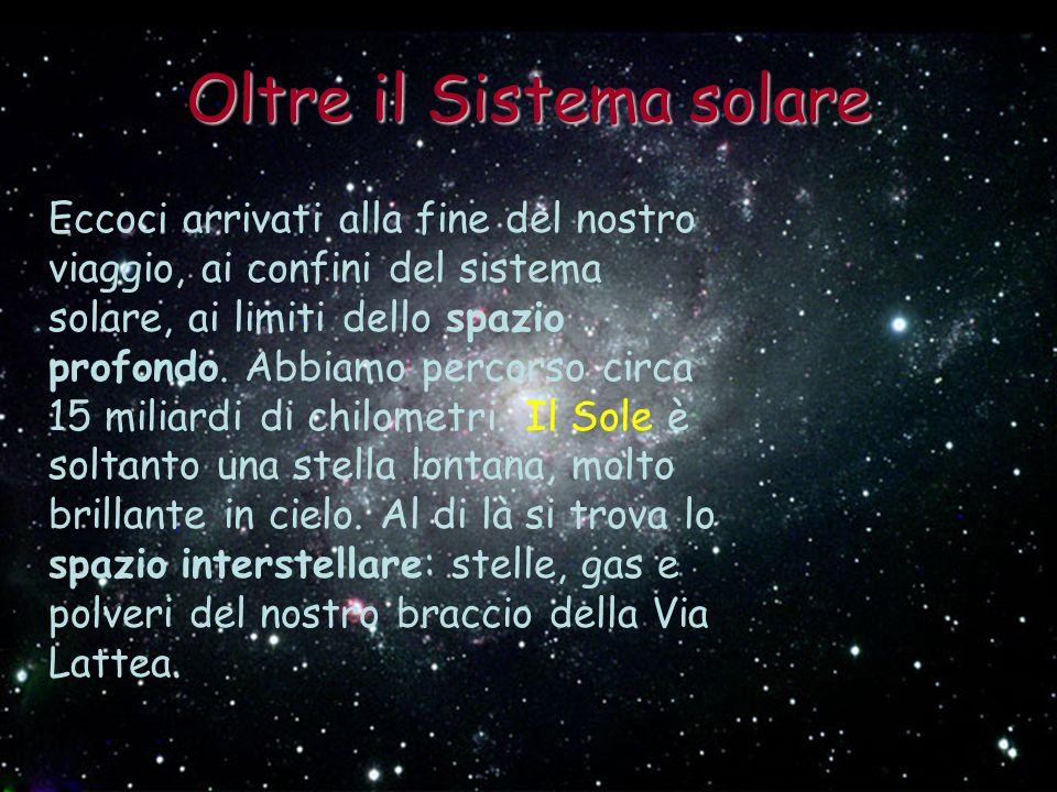 Oltre il Sistema solare