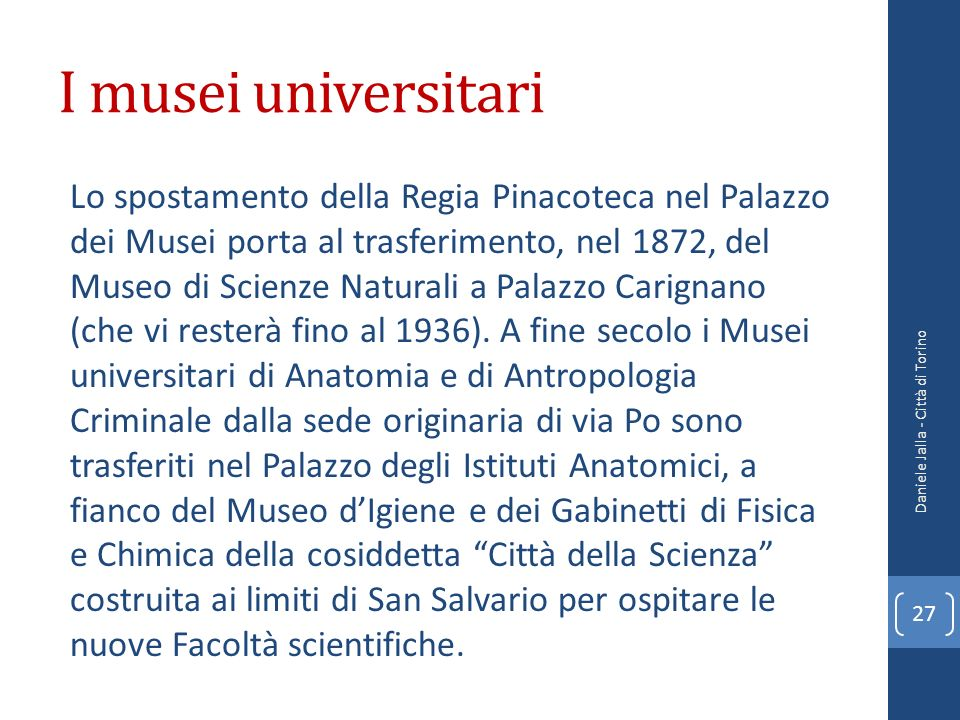 I musei universitari