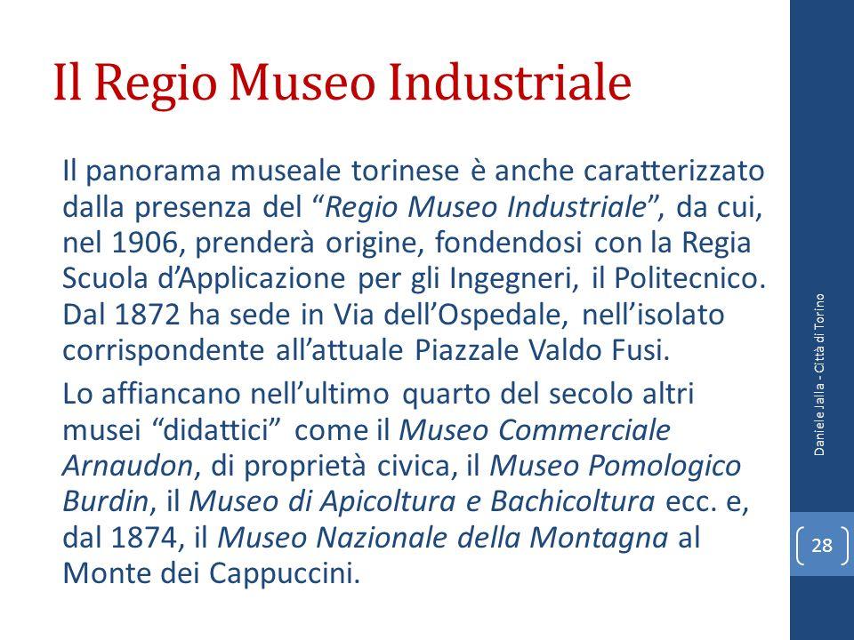 Il Regio Museo Industriale