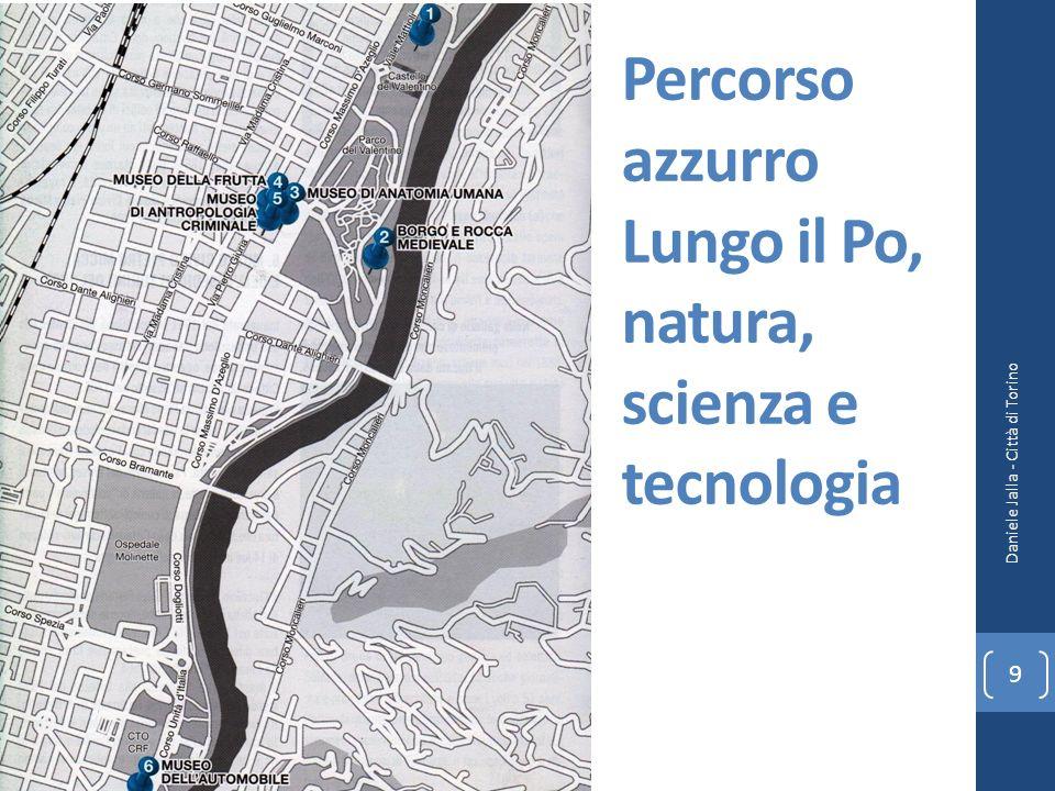Percorso azzurro Lungo il Po, natura, scienza e tecnologia