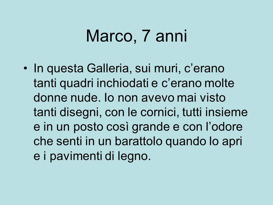 Marco, 7 anni
