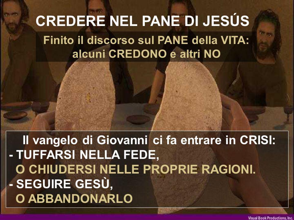CREDERE NEL PANE DI JESÚS