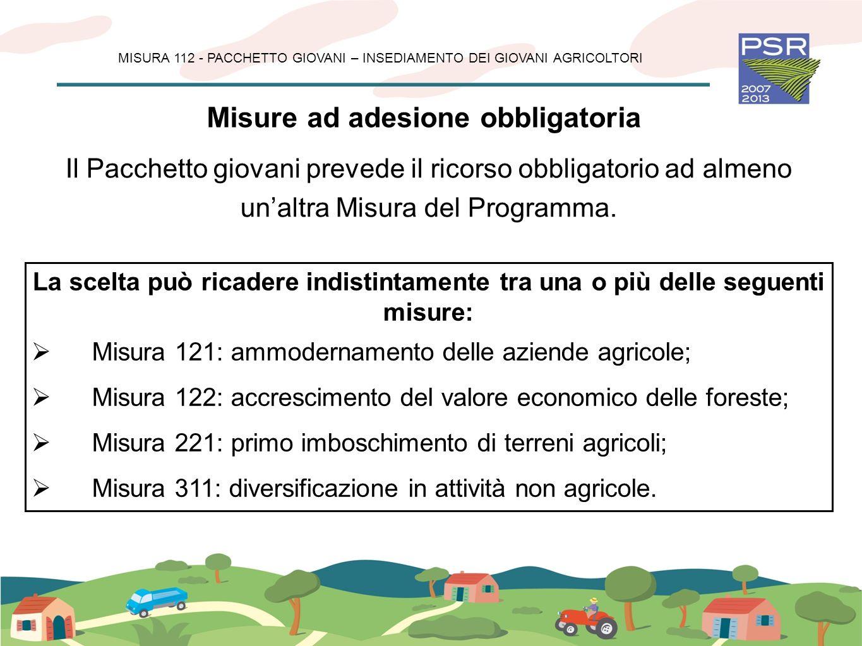 Misure ad adesione obbligatoria