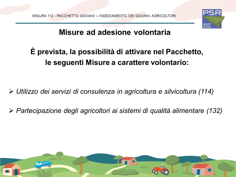 Misure ad adesione volontaria