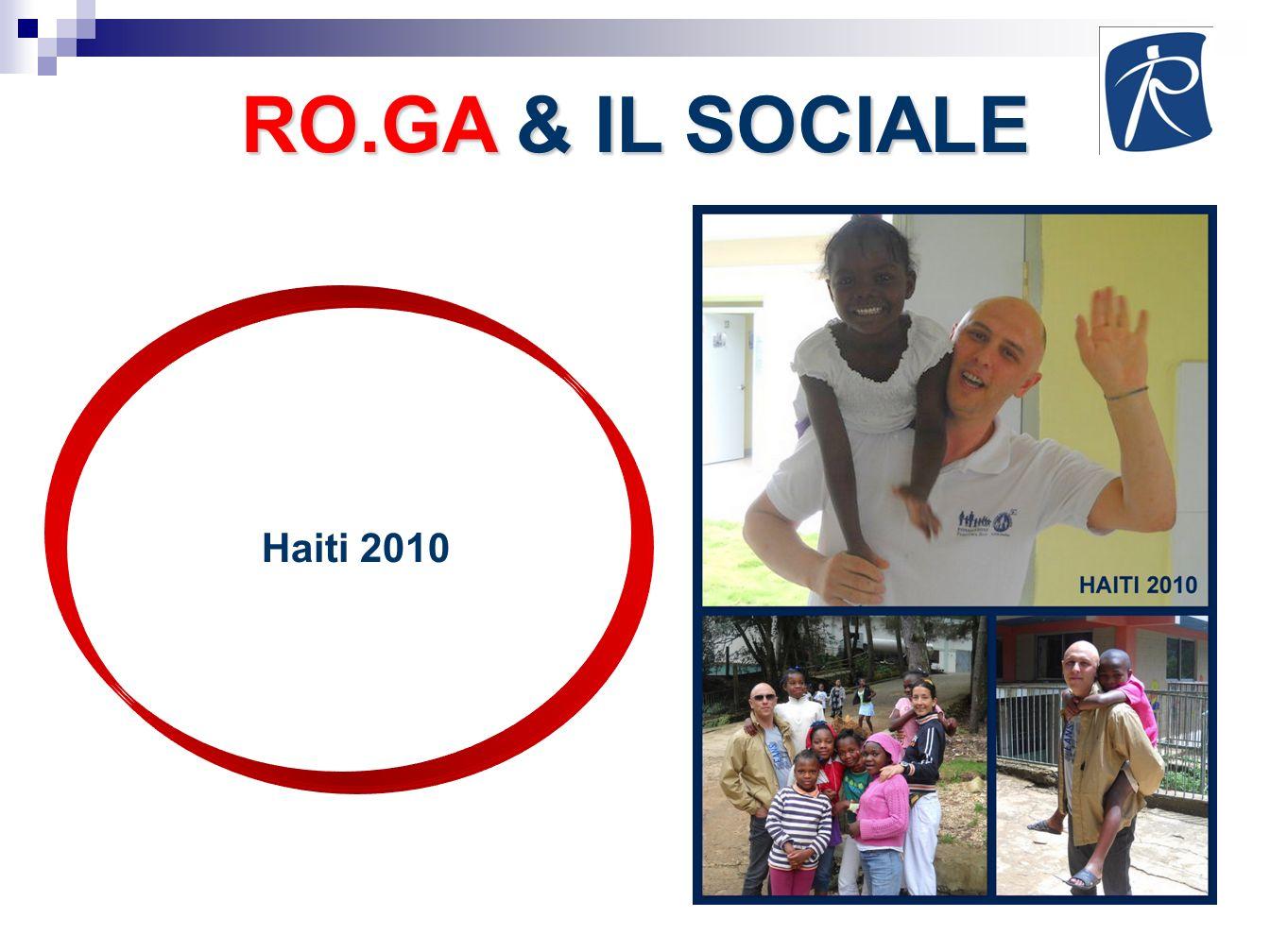 RO.GA & IL SOCIALE Haiti 2010