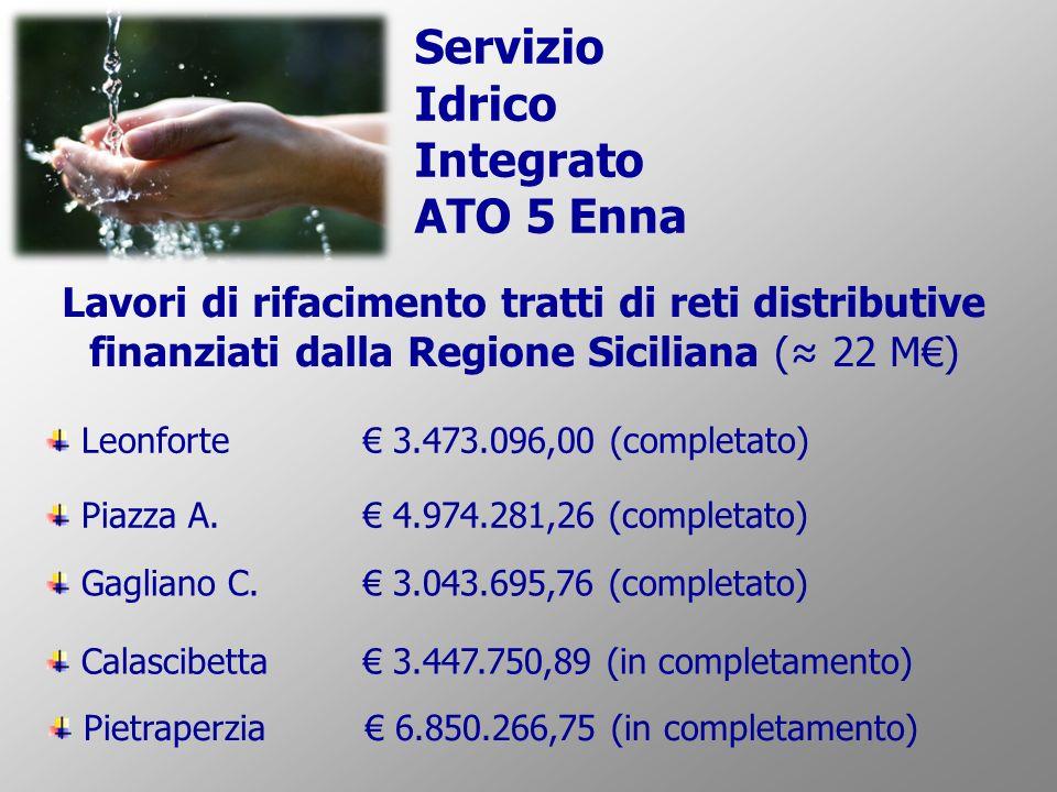 Servizio Idrico Integrato ATO 5 Enna