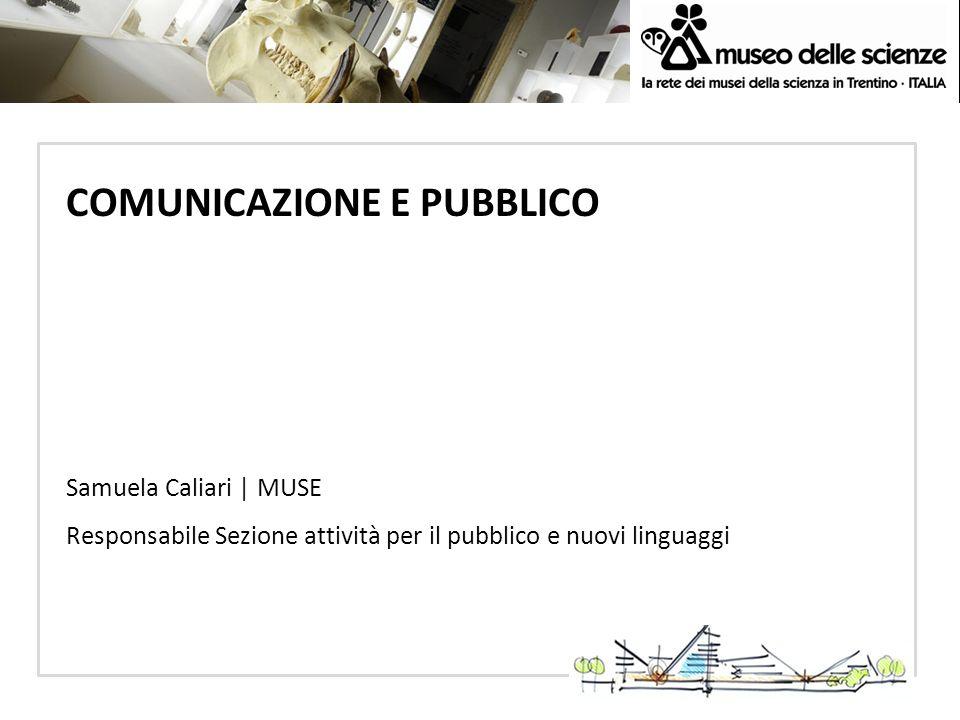 COMUNICAZIONE E PUBBLICO