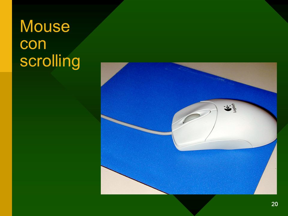 Mouse con scrolling