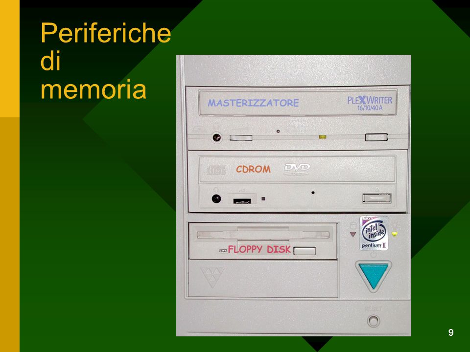 Periferiche di memoria