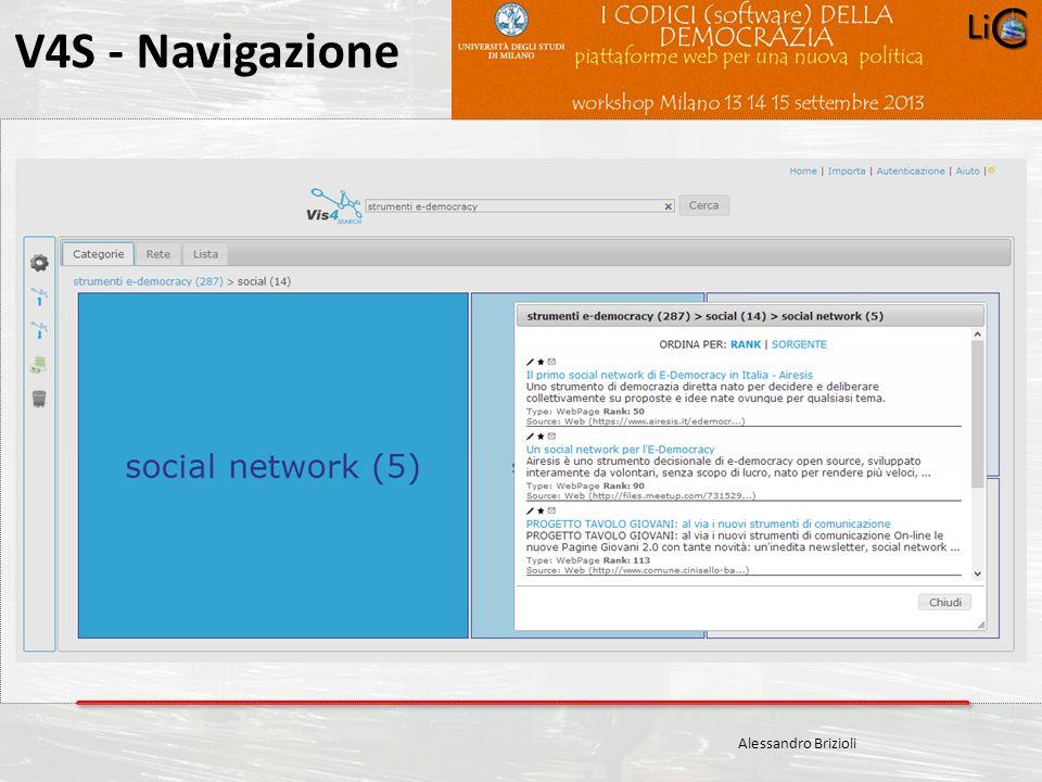 V4S - Navigazione Alessandro Brizioli