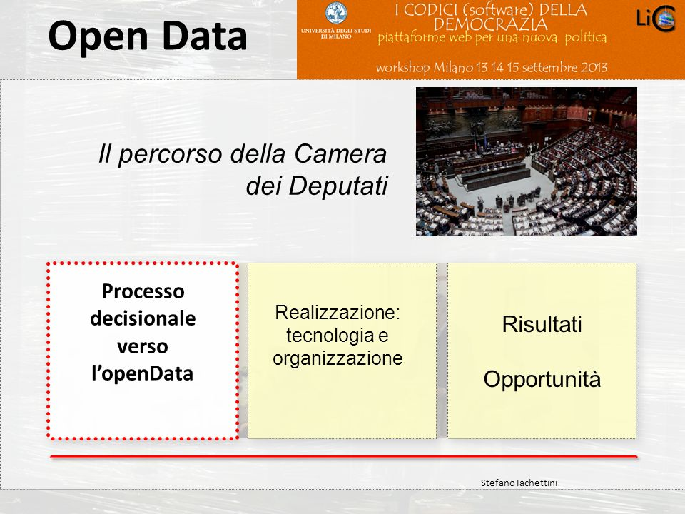 Processo decisionale verso l'openData