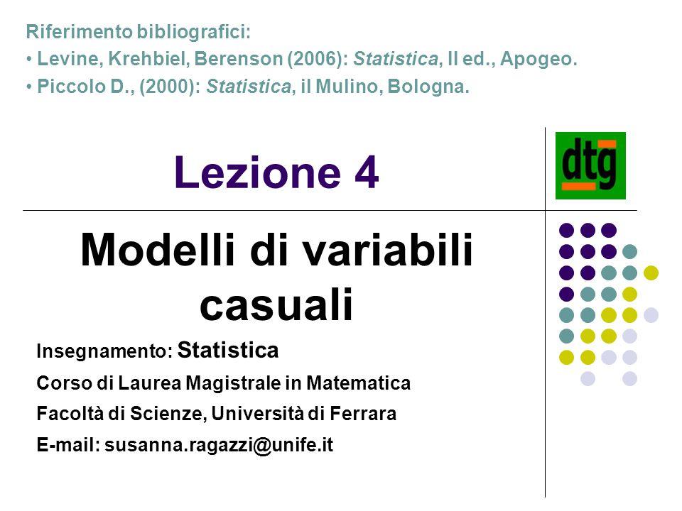 Modelli di variabili casuali