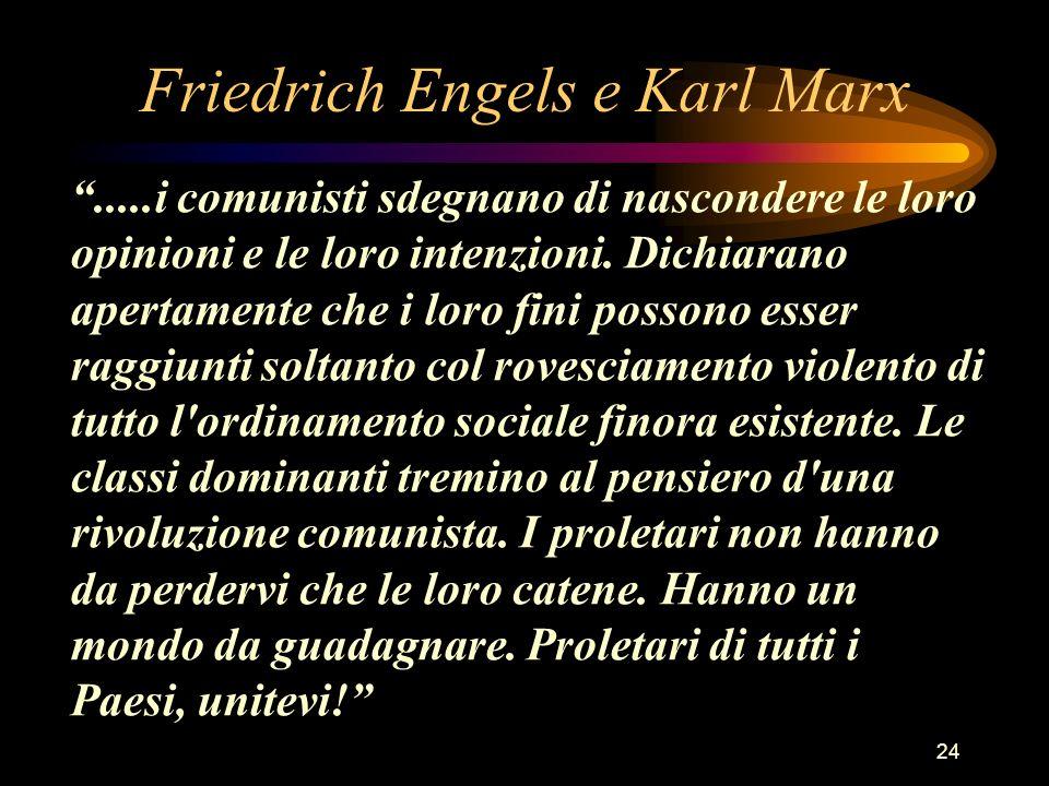 Friedrich Engels e Karl Marx