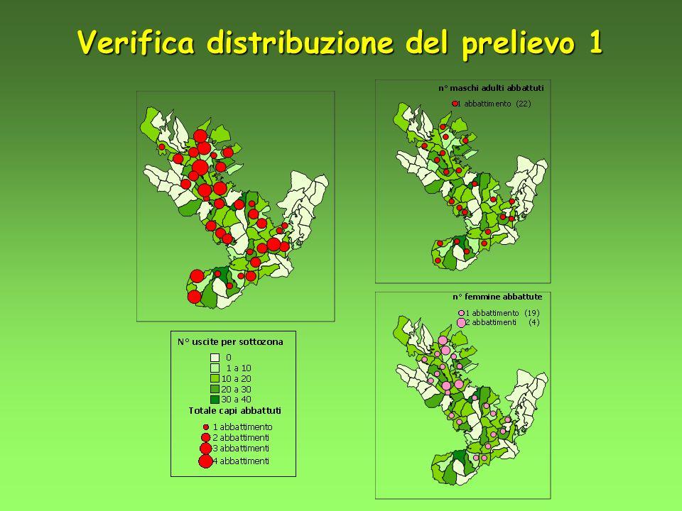 Verifica distribuzione del prelievo 1