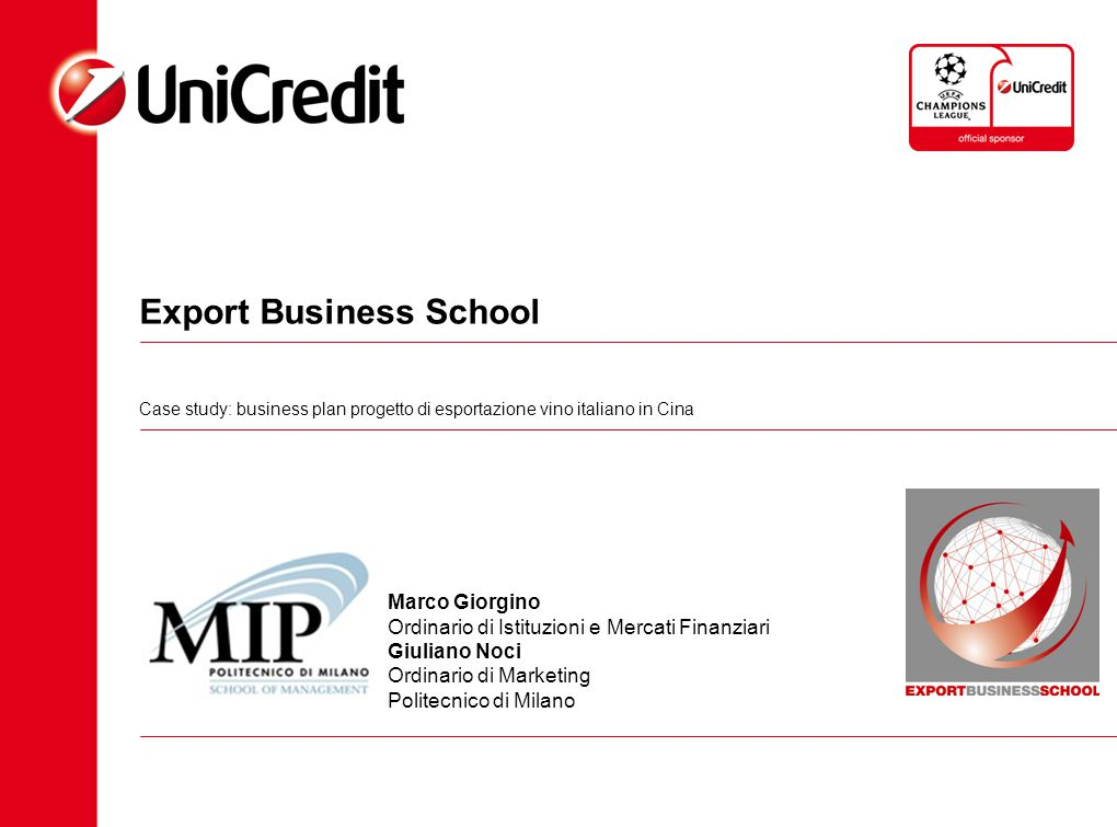 Export Business School