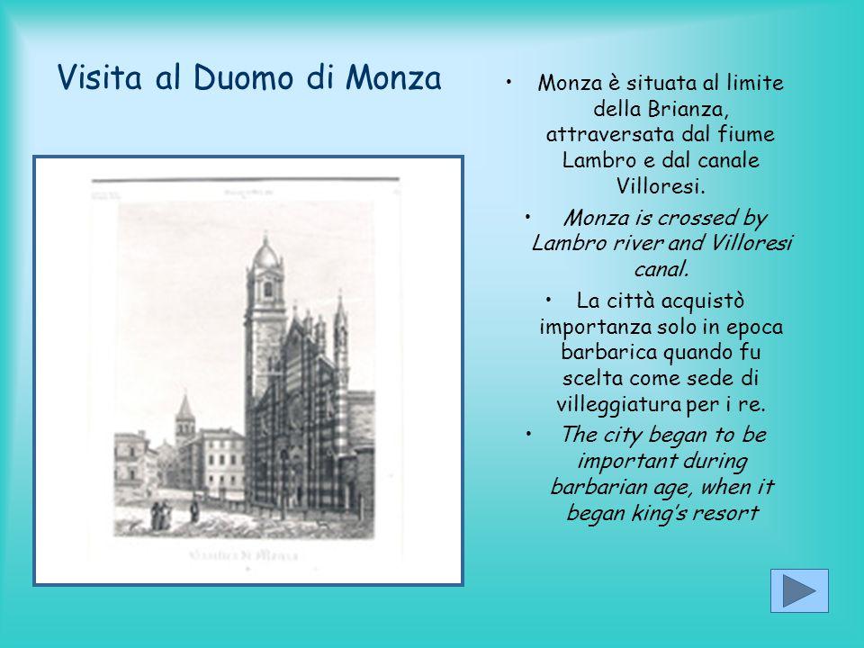Visita al Duomo di Monza