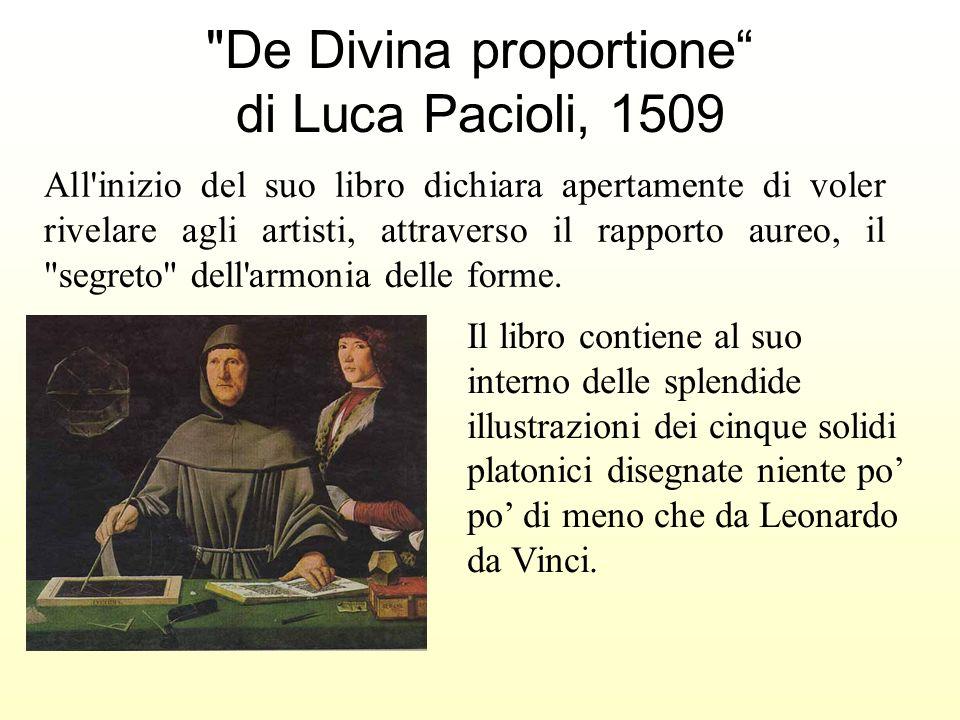 De Divina proportione di Luca Pacioli, 1509