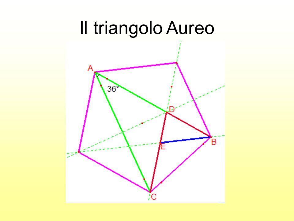 Il triangolo Aureo Costruzione con cabrì