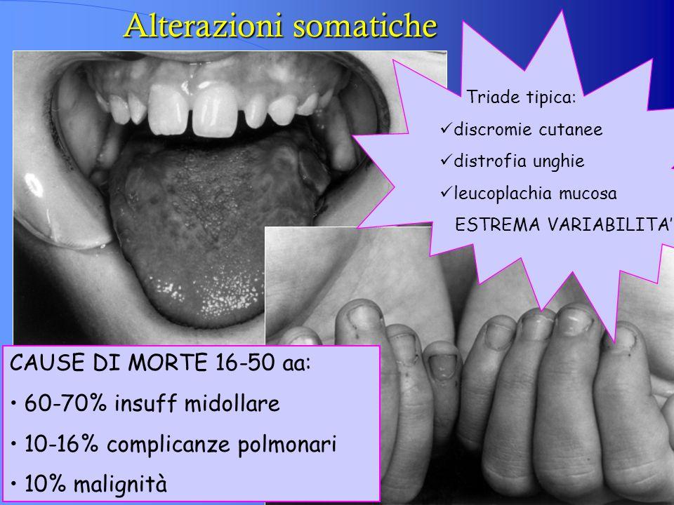 Alterazioni somatiche