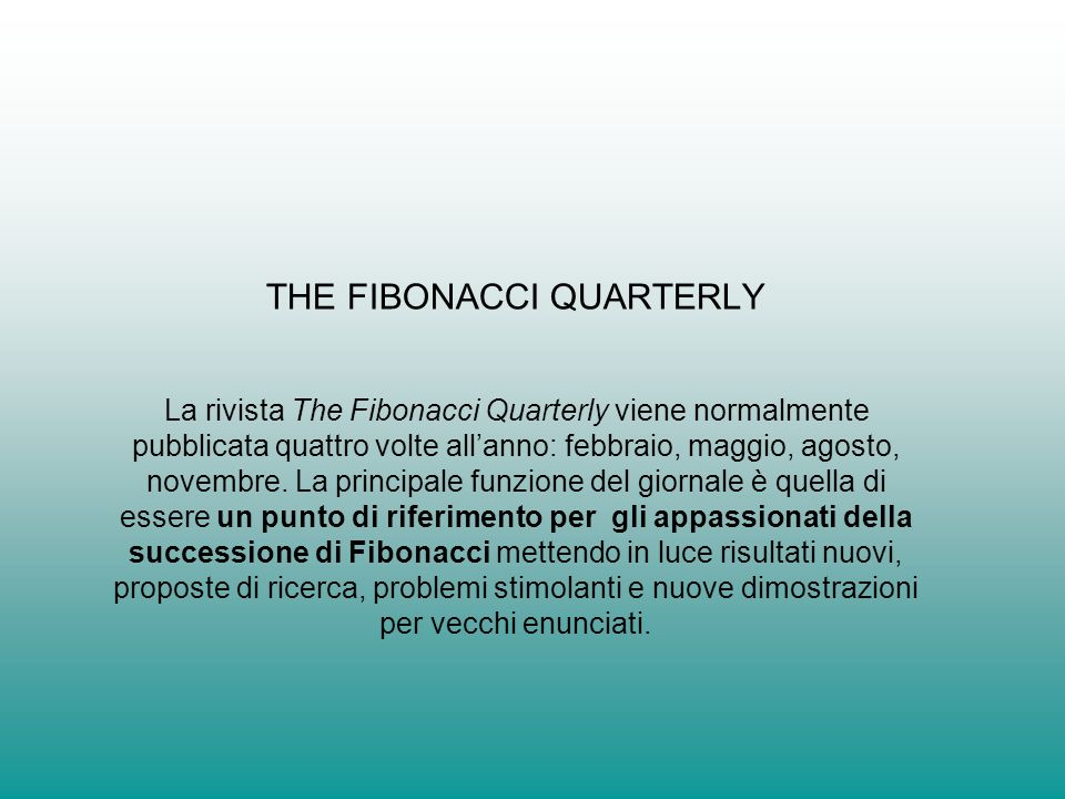 THE FIBONACCI QUARTERLY