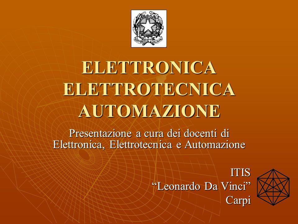 ELETTRONICA ELETTROTECNICA AUTOMAZIONE