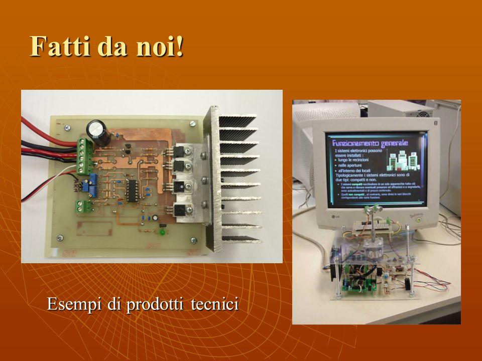 Fatti da noi! Esempi di prodotti tecnici