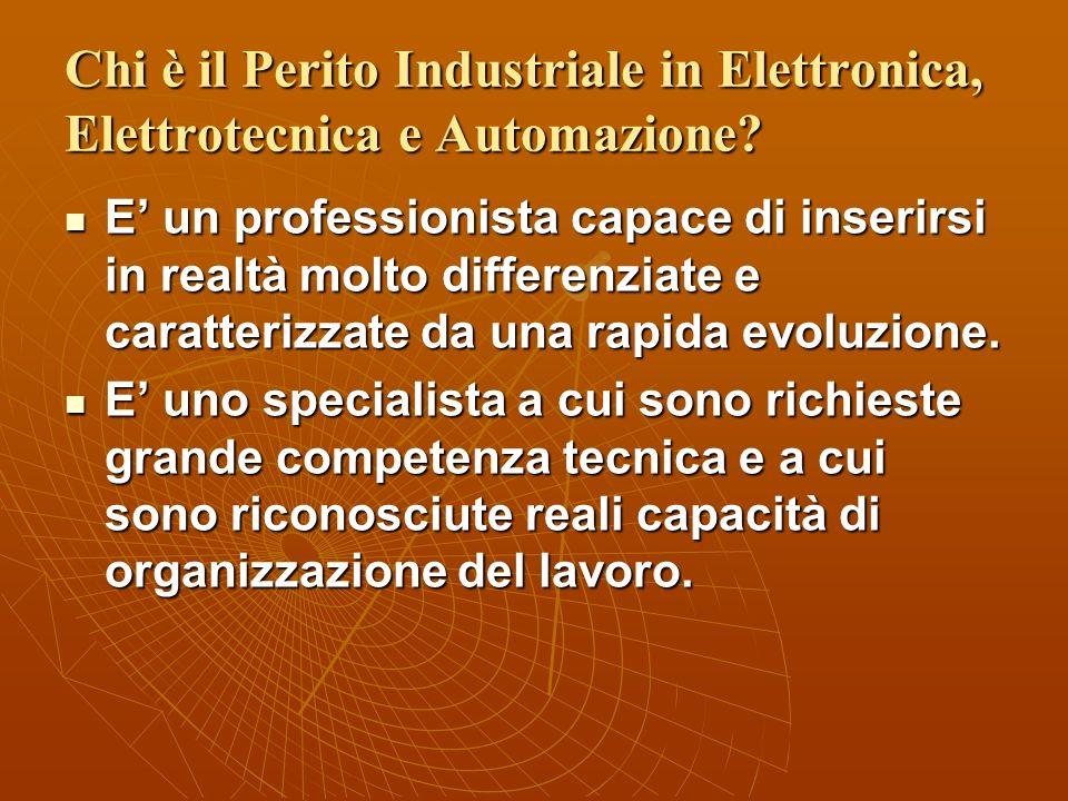 Chi è il Perito Industriale in Elettronica, Elettrotecnica e Automazione