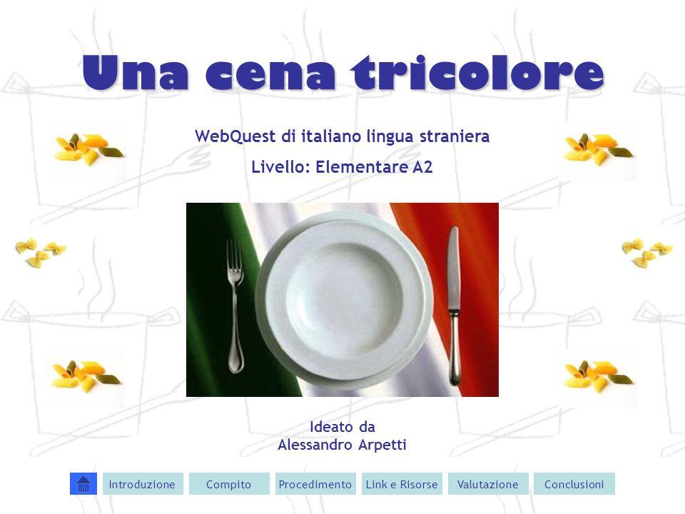 WebQuest di italiano lingua straniera