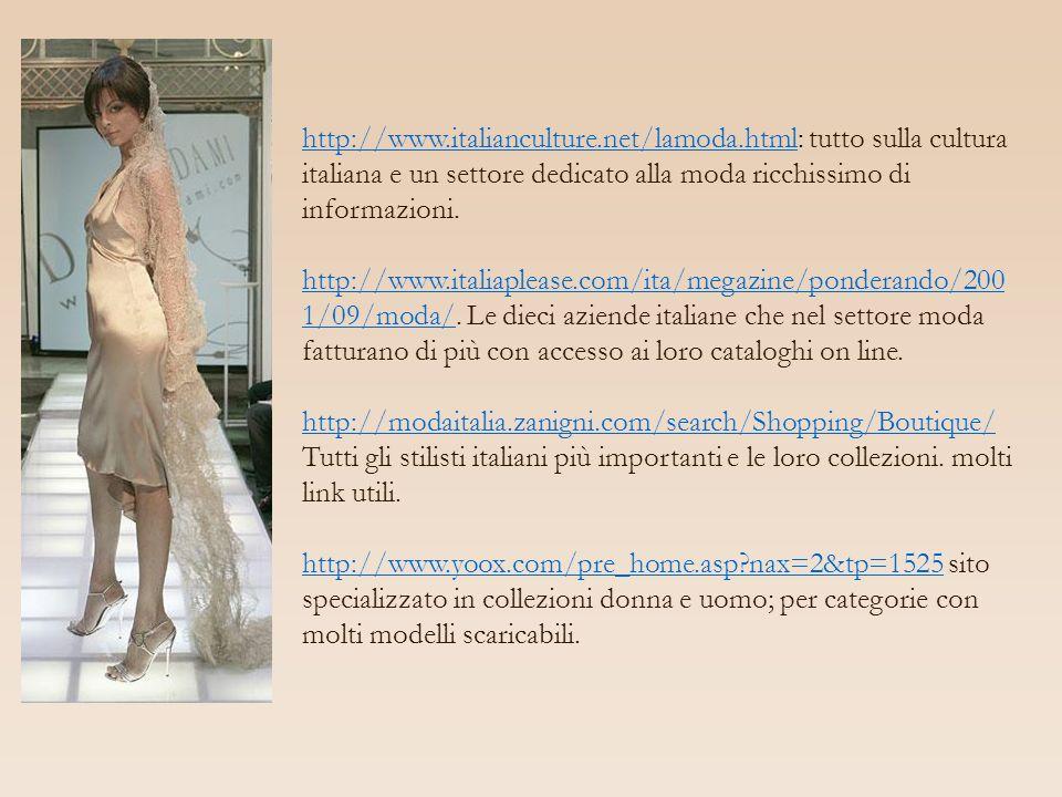 http://www. italianculture. net/lamoda