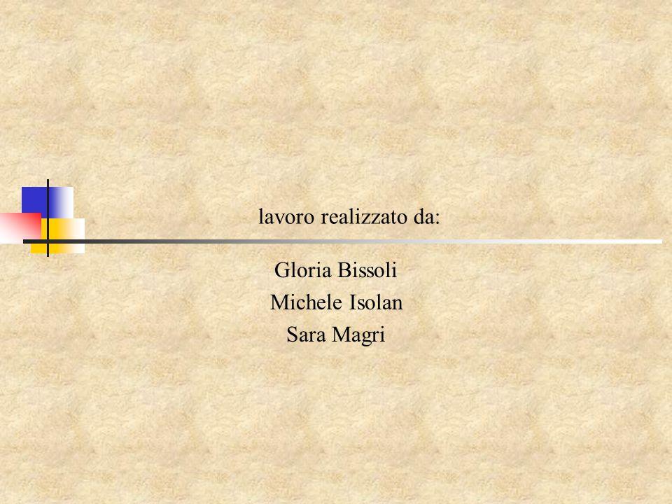 Gloria Bissoli Michele Isolan Sara Magri