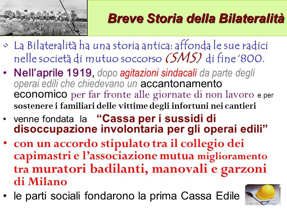 Breve Storia della Bilateralità