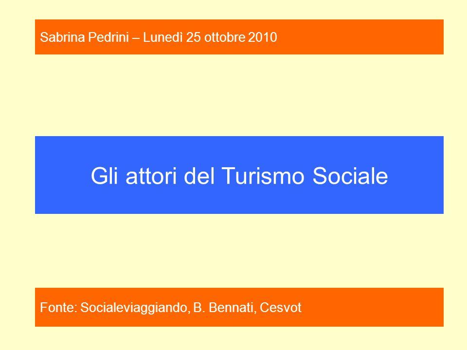 Gli attori del Turismo Sociale