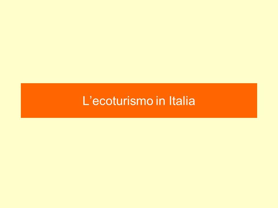 L'ecoturismo in Italia