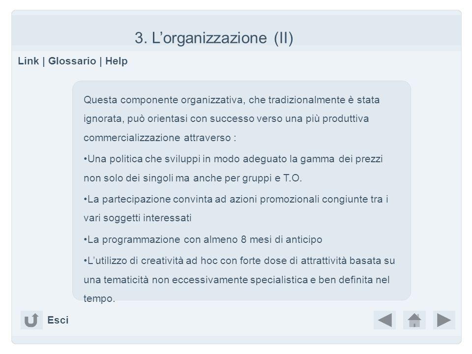 3. L'organizzazione (II)