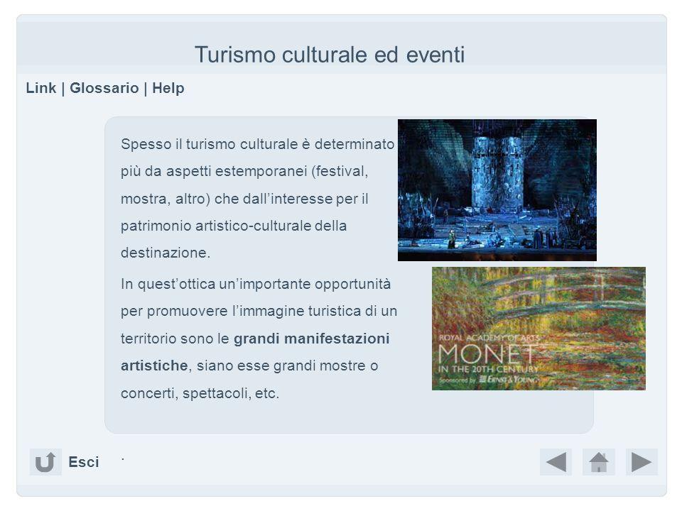 Turismo culturale ed eventi